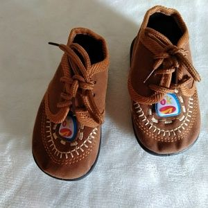 Baby boys Brown shoe 3-6 month